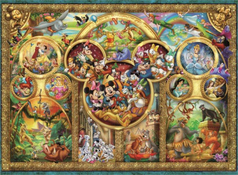 RAVENSBURGER Puzzle Disney rodina 500 dílků