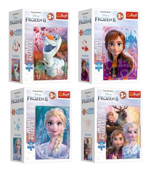 TREFL Displej Puzzle Ledové království 2, 20 dílků (24 ks)