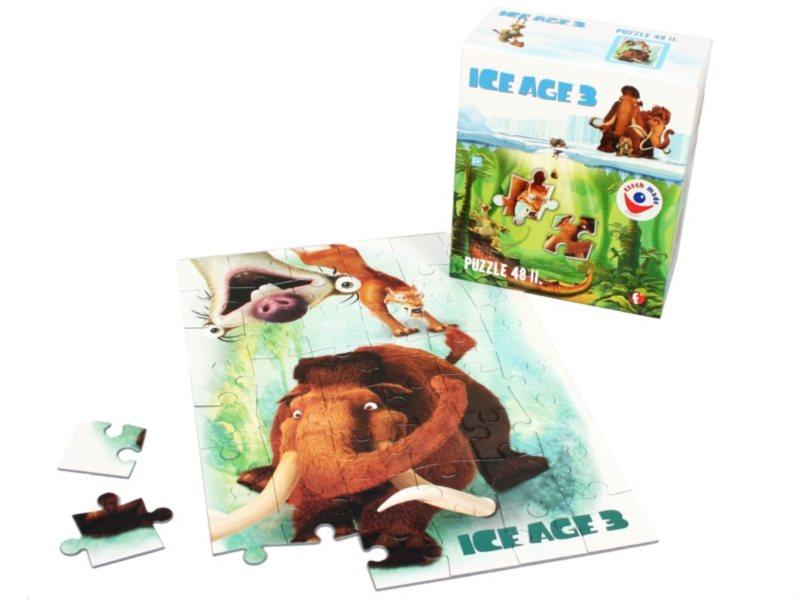 Puzzle pro děti EFKO - Doba ledová 3: Manny - 48 dílků