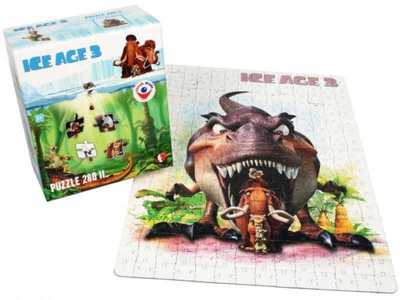 Puzzle pro děti EFKO - Doba ledová 3: Úsvit dinosaurů - 280 dílků