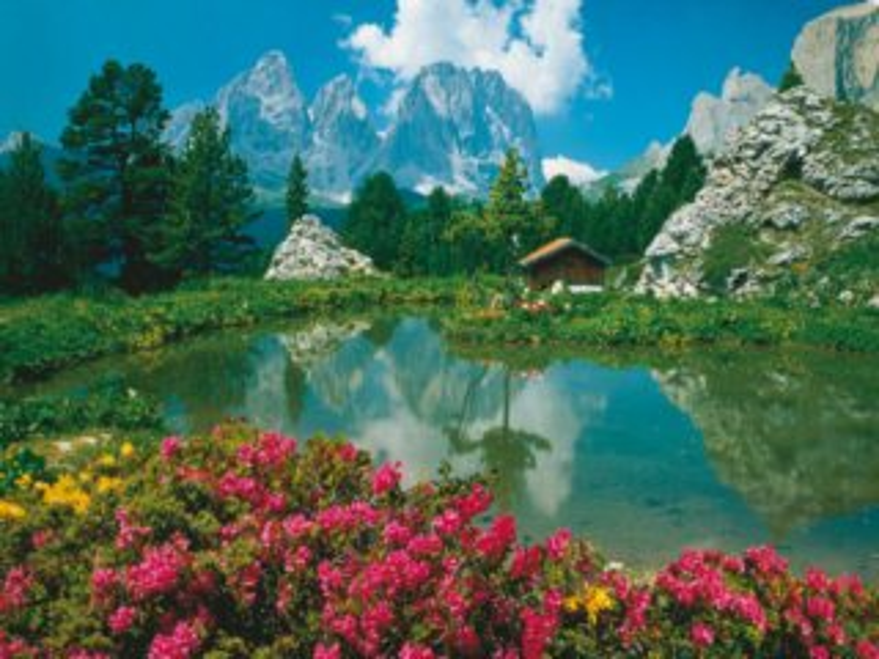 Puzzle RAVENSBURGER 3000 dílků - Dolomity, Itálie