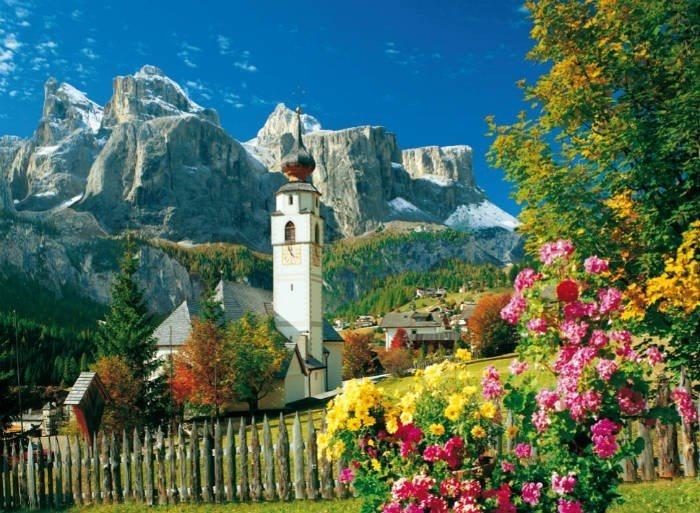 Puzzle CLEMENTONI - Dolomity 2000 dílků