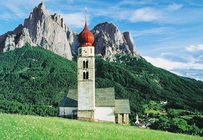Puzzle PARTY PUZZLE 500 dílků - Dolomity, Itálie