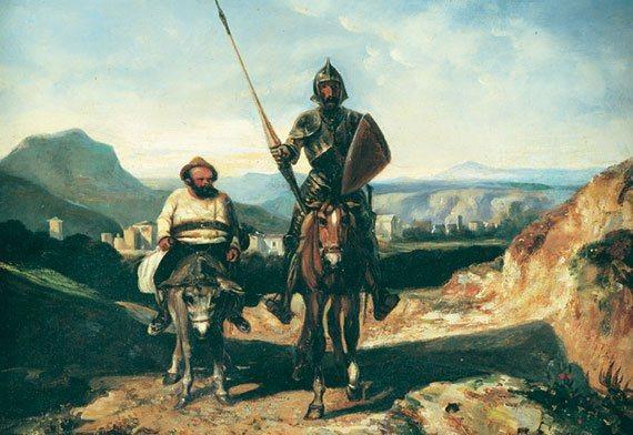 Puzzle EDUCA 500 dílků - Don Quijote de la Mancha