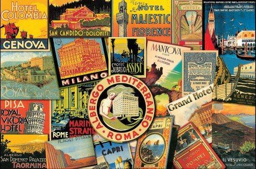 PIATNIK Puzzle Dovolená v Itálii 1000 dílků