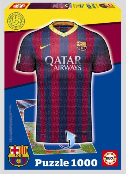 EDUCA 15759 Dres FC Barcelona 2v1 - 1000 dílků