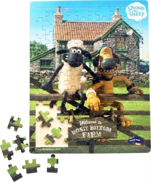 SMALL FOOT Dřevěné puzzle Ovečka Shaun 100 dílků