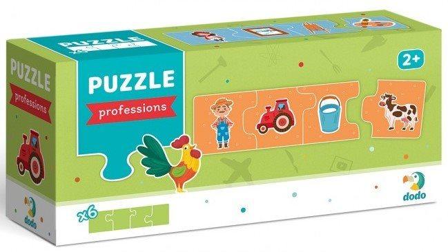 DODO Puzzle Asociace: Povolání 6x4 dílky