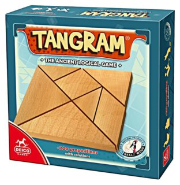DEICO Dřevěný Tangram