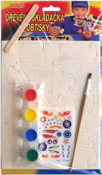 ARTLOVER 3D puzzle Dvouplošník s barvičkami