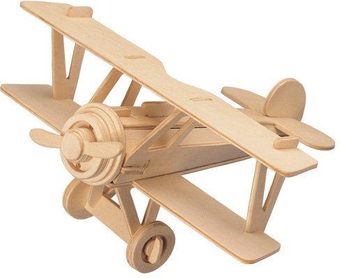 WOODEN TOY , WCK 3D puzzle Dvouplošník Nieuport