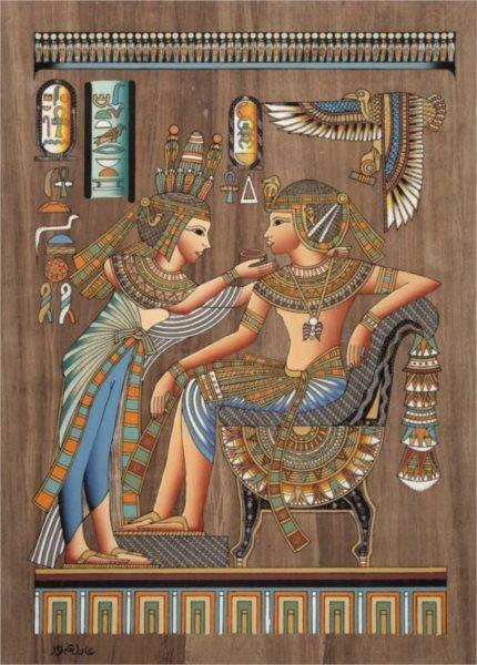 Puzzle DINO 3000 dílků - Egyptský papyrus