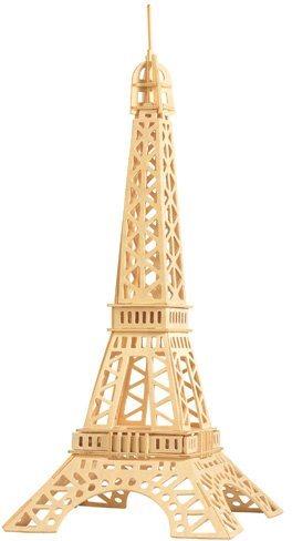 3D dřevěné puzzle Eiffelova věž P030