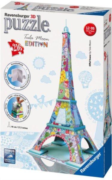 3D puzzle RAVENSBURGER 216 dílků - Eiffelova věž 3D (Tula Moon)
