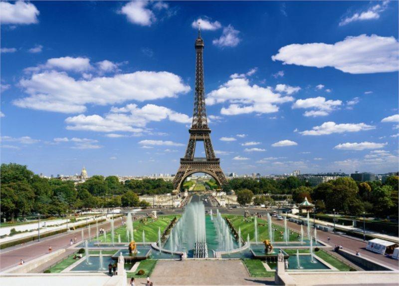 Puzzle DINO 3000 dílků - Eiffelova věž, Paříž