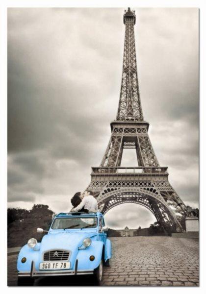 EDUCA Puzzle Eiffelova věž, Paříž 500 dílků