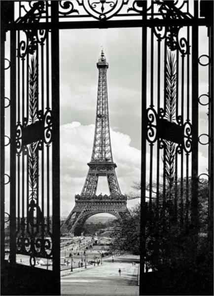 EUROGRAPHICS Puzzle Eiffelova věž, Paříž 1000 dílků