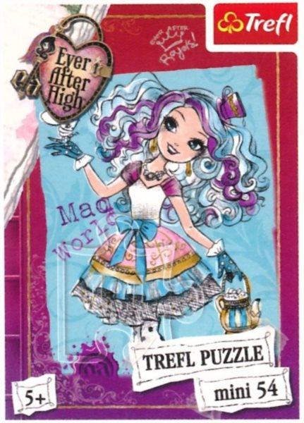 Dětské puzzle TREFL 54 dílků - Ever After High: Madeline Hatter