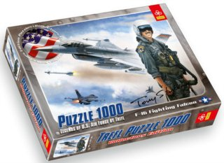 TREFL Puzzle F-16 Fighting Falcon 1000 dílků
