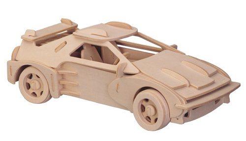 WOODEN TOY , WCK 3D puzzle Ferrari F-20