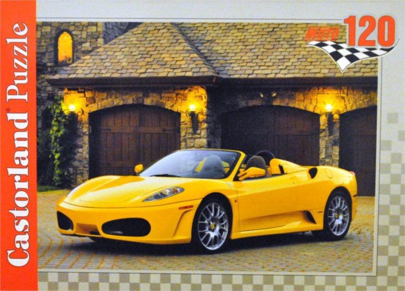 CASTORLAND Puzzle Ferrari F430 Spider 120 dílků