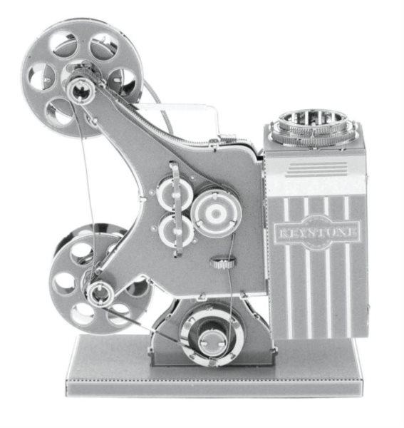 3D kovové puzzle METAL EARTH Filmový projektor