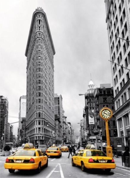 Puzzle RAVENSBURGER 500 dílků - Flatiron Building, NYC