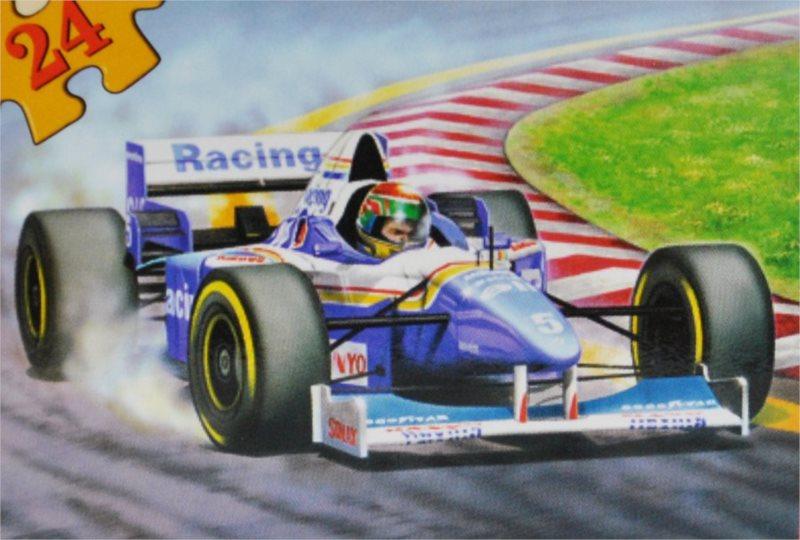 CASTORLAND Puzzle Formule 24 dílků