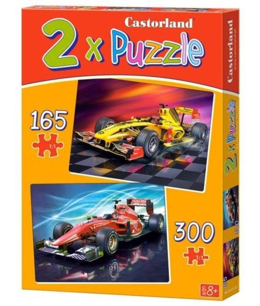 CASTORLAND Puzzle Formule 165 + 300 dílků