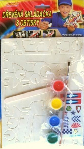 ARTLOVER 3D puzzle Formule s barvičkami