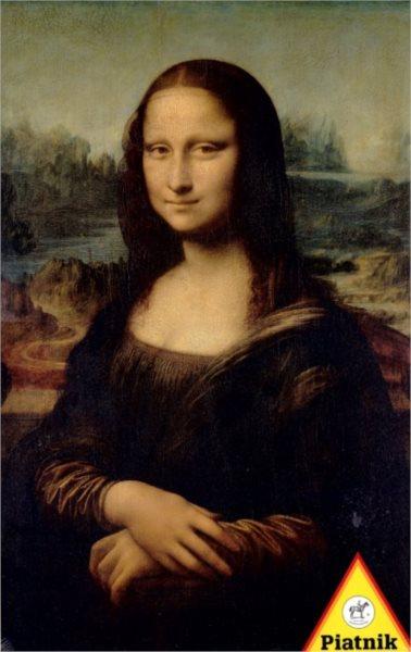 Puzzle PIATNIK 1000 dílků - Leonardo DaVinci: Mona Lisa
