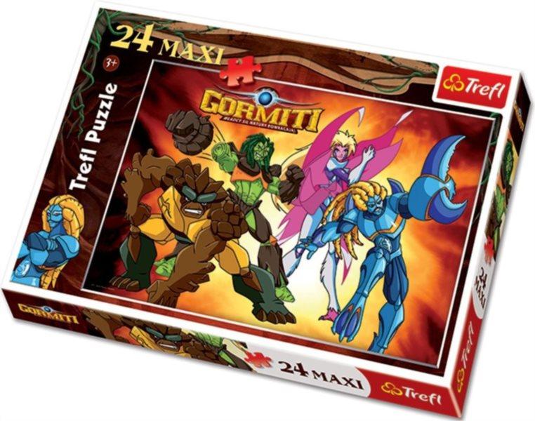 Maxi puzzle pro děti TREFL 24 dílků - Gormiti