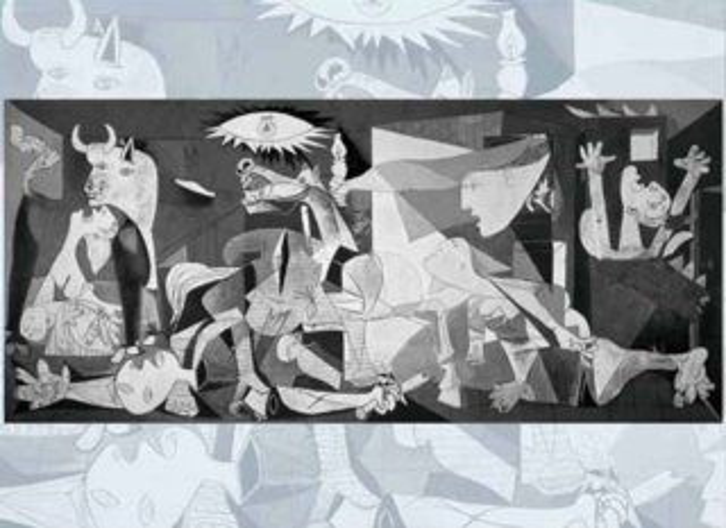 Puzzle EDITIONS RICORDI 1000 dílků - Picasso, Guernica