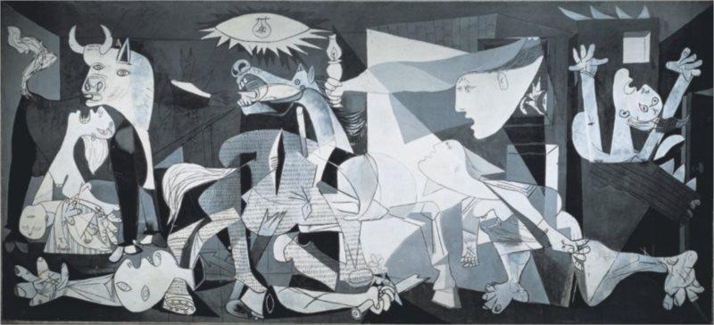 Puzzle EDUCA 3000 dílků - Picasso, Guernica