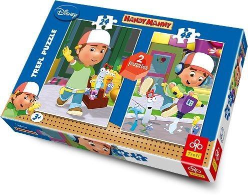 TREFL Puzzle Mistr Manny 24+48 dílků