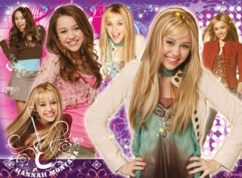 Dětské puzzle RAVENSBURGER 100 dílků - Hannah Montana