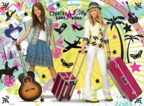 RAVENSBURGER Puzzle Hannah Montana XXL 100 dílků