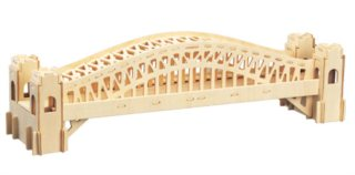 WOODEN TOY / WCK 3D puzzle Harbour Bridge