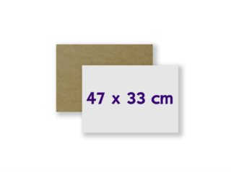 HDF deska na puzzle 47x33 cm