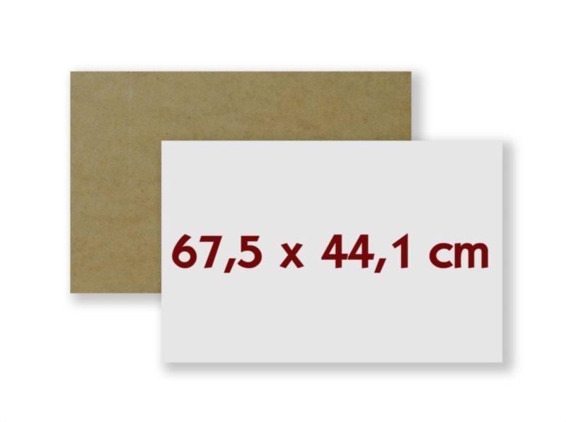 HDF deska na puzzle 67,5x44,1 cm
