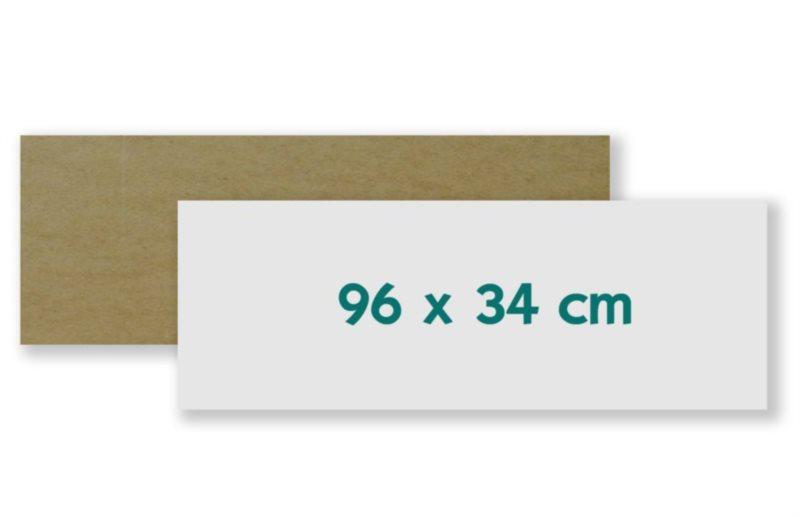 Podložka - deska na skládání i lepení puzzle 96x34 cm - panorama