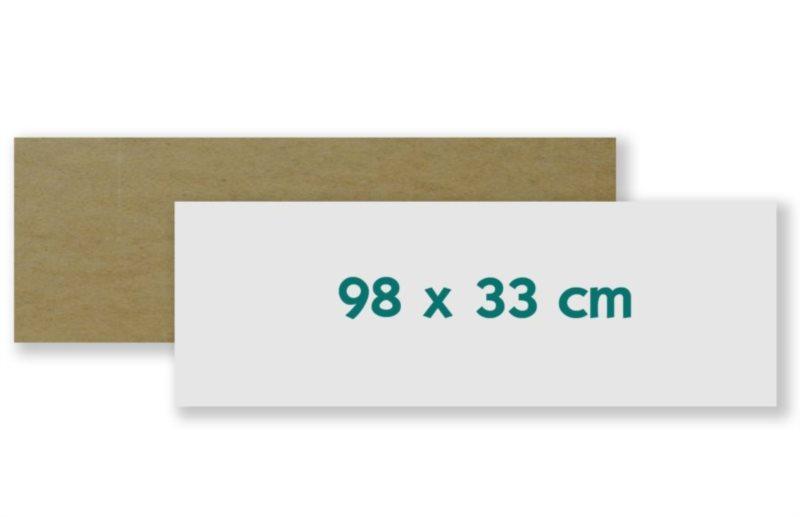 Podložka - deska na skládání i lepení puzzle 98x33 cm - panorama