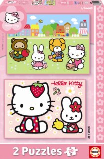 EDUCA Puzzle Hello Kitty 2x20 dílků