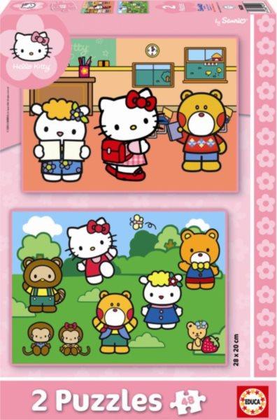 EDUCA Puzzle Hello Kitty 2x48 dílků