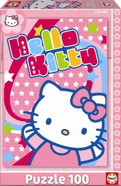 EDUCA Puzzle Hello Kitty 100 dílků