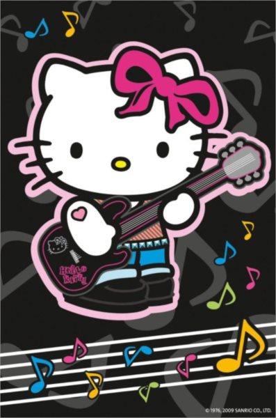 Puzzle RAVENSBURGER 54 dílků - Hello Kitty 4 - Kytara