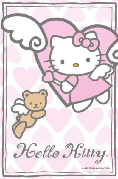 Puzzle RAVENSBURGER 54 dílků - Hello Kitty 9 - Andílci