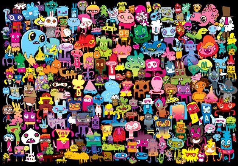 HEYE Puzzle Hi There! 2000 dílků