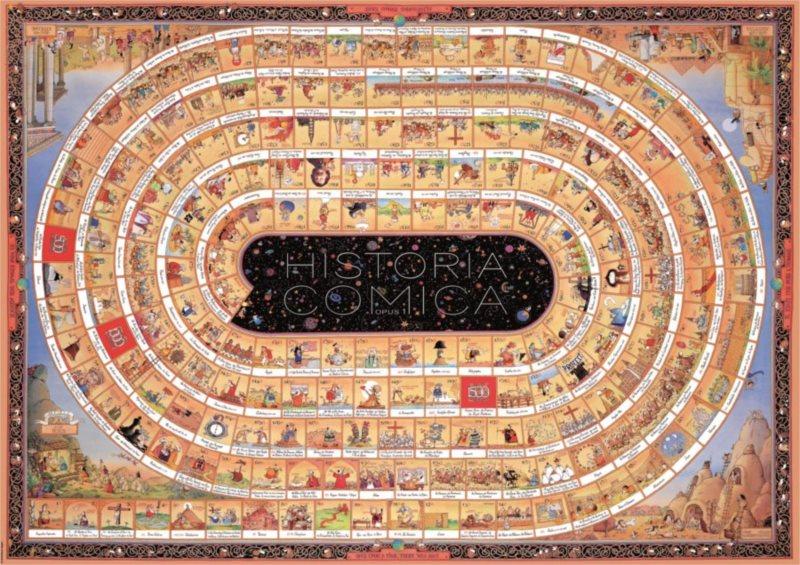 Puzzle HEYE 4000 dílků - Degano, Historia Comica 1 , Triangular