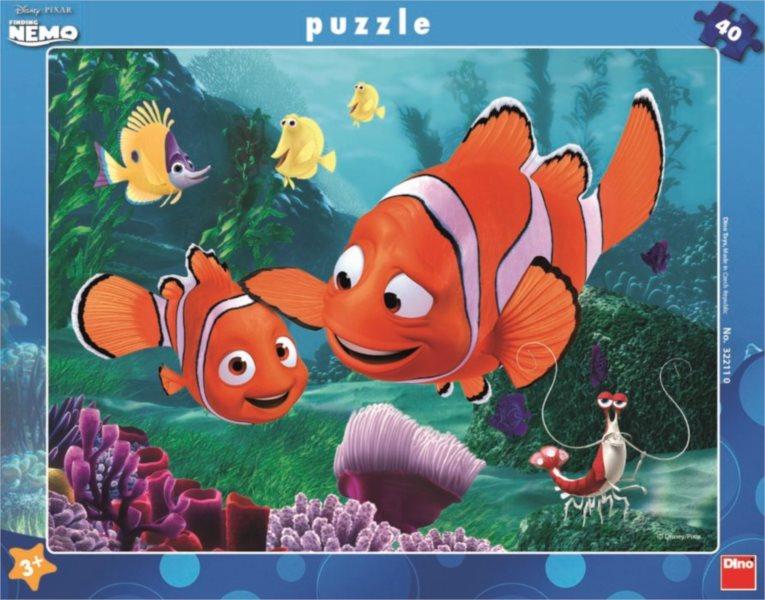 DINO Puzzle Hledá se Nemo: Nemo v bezpečí 40 dílků